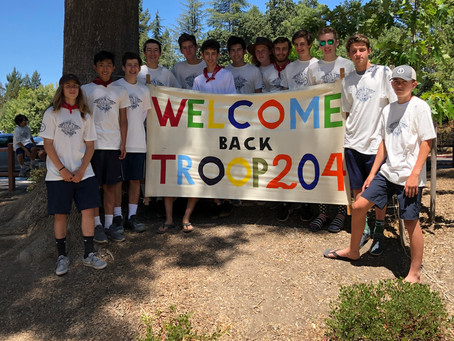 Troop Completes Another Epic 50 Miler