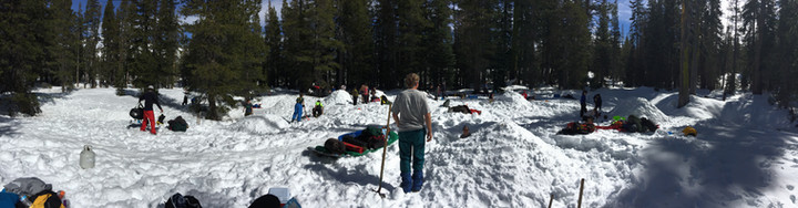 Snow Camping During Epic Winter!