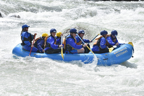 Rafting the American River