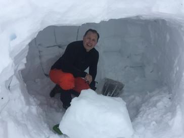 Snow Cave...Will Be Warm Tonight