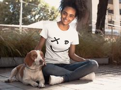 SHASMIMO SMILE GIRL DOG