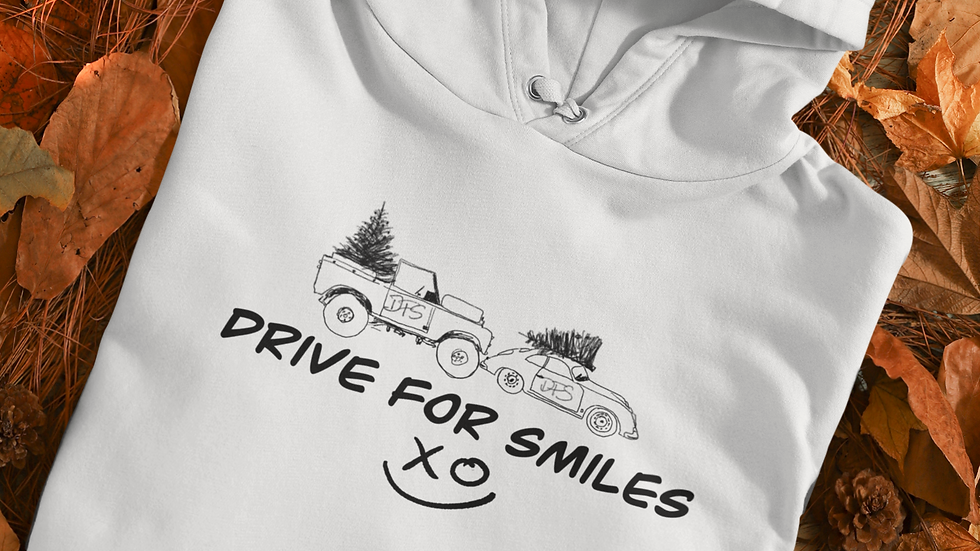 DFS HOODIE - DRIVE FOR SMILES XMAS CHARITY