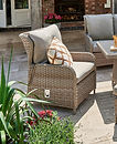 Wroxham 5 Seat Flexible Lounge - Ceramic Firepit