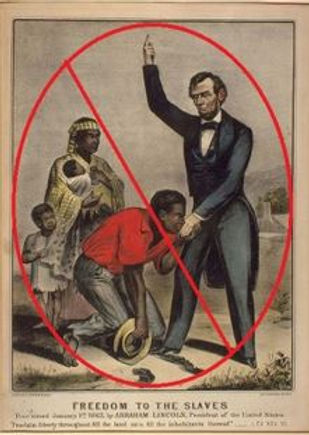 website Lincoln freeing the slaves.JPG