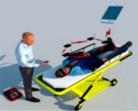 Medic with guy on stretcher.PNG