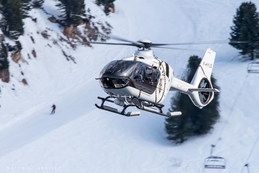 Héli Sécurité H135