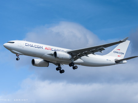 CMA CGM A330F visits Hearquarters in Marseille