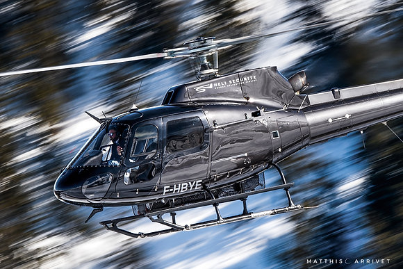 Héli sécurité AS350