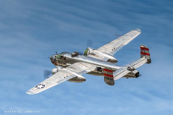 Delaware Aviation Museum B-25J Mitchell poster