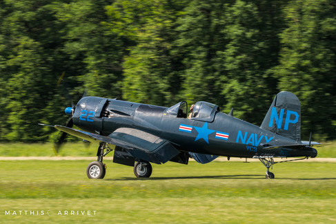 Private F4U 5N Corsair