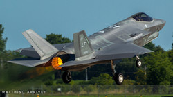 F-35C Lightnig II taking-off