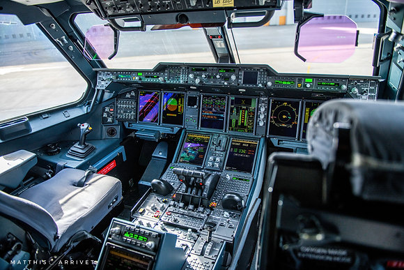 French Air Force A400M Atlas cockpit