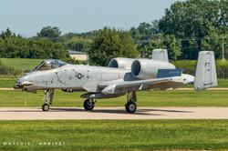 A-10 Warthog taxiing