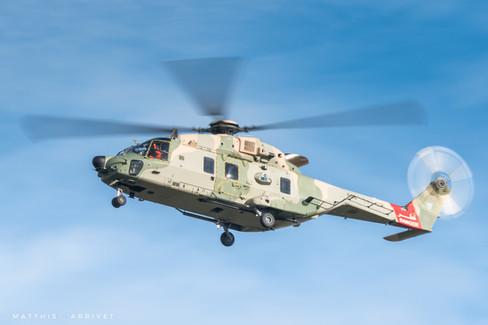 Royal Air Force of Oman NH90 TTH