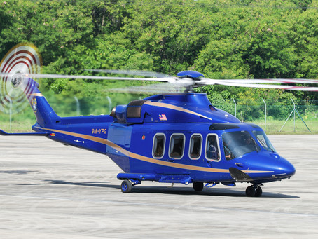 The AW139 celebrates its 20th anniversary !