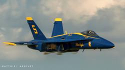 Transonic F-18 Hornet