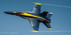 F-18 Hornet pulling Gs