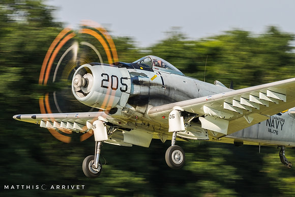 Private AD-4N Skyraider poster