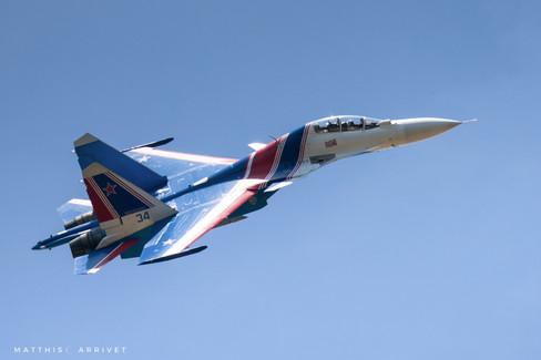 Russian Knights Su-30SM