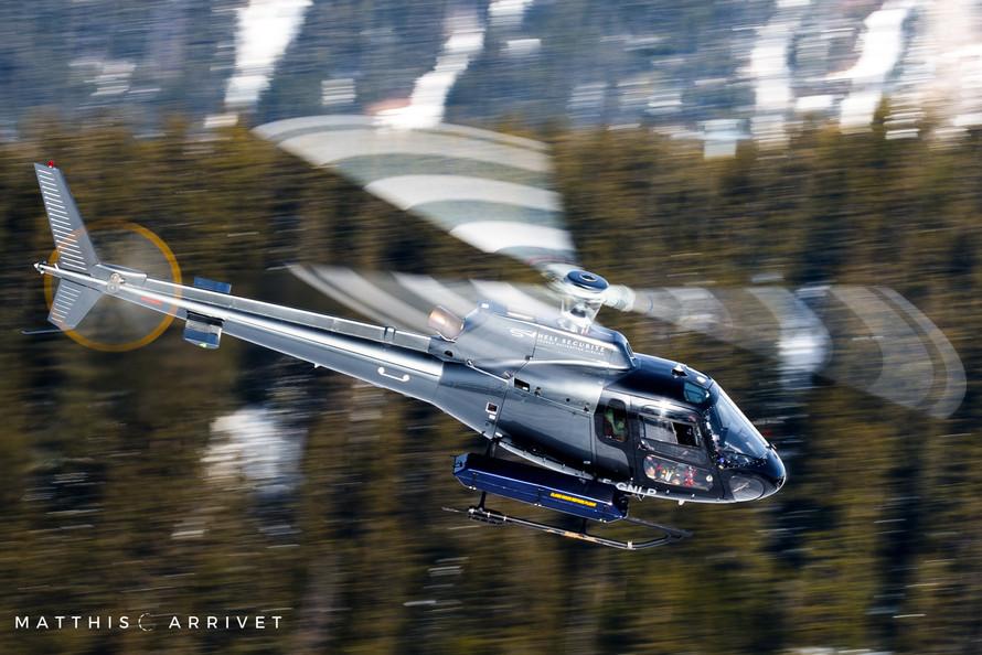 Héli Sécurité AS350B2 Squirrel