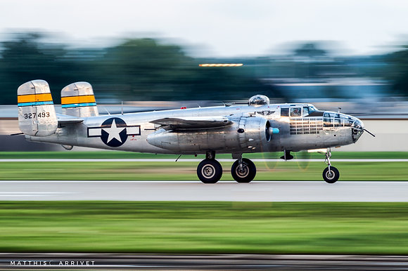Commemorative Air Force B-25J Mitchell poster