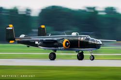 Nightshow B-25 Mitchell