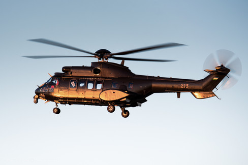 Uzbekistan Air Force H215M Cougar