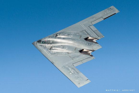 USAF B-2 Spirit poster
