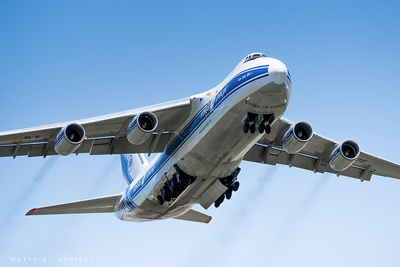 Volga-Dnepr An-124-100 Ruslan poster