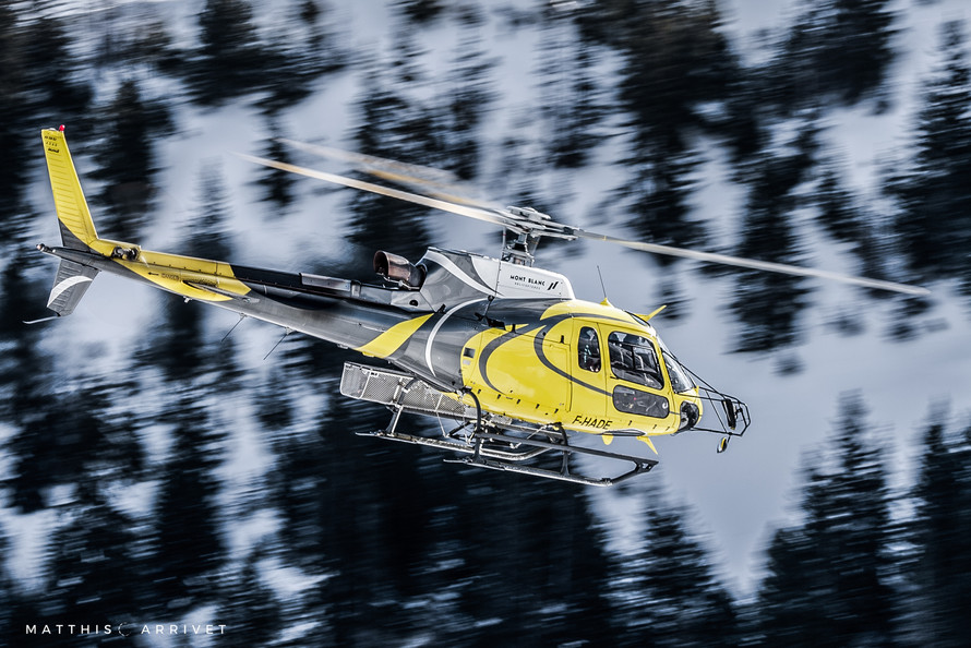 Mont Blanc Helicopters H125