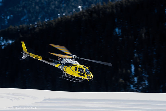 H125 Taking off