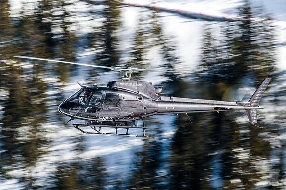 Héli Sécurité AS350B2