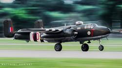 B-25 Mitchell take-off