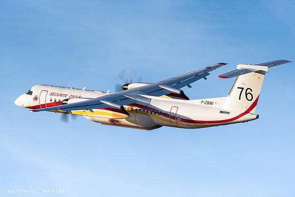 Bombardier Dash 8 Q-400MR Sécurité Civile