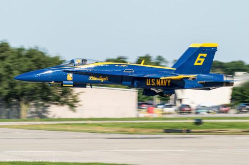 USN Blue Angels F-18A Hornet