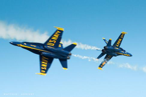 USN Blue Angels F-18A Hornets