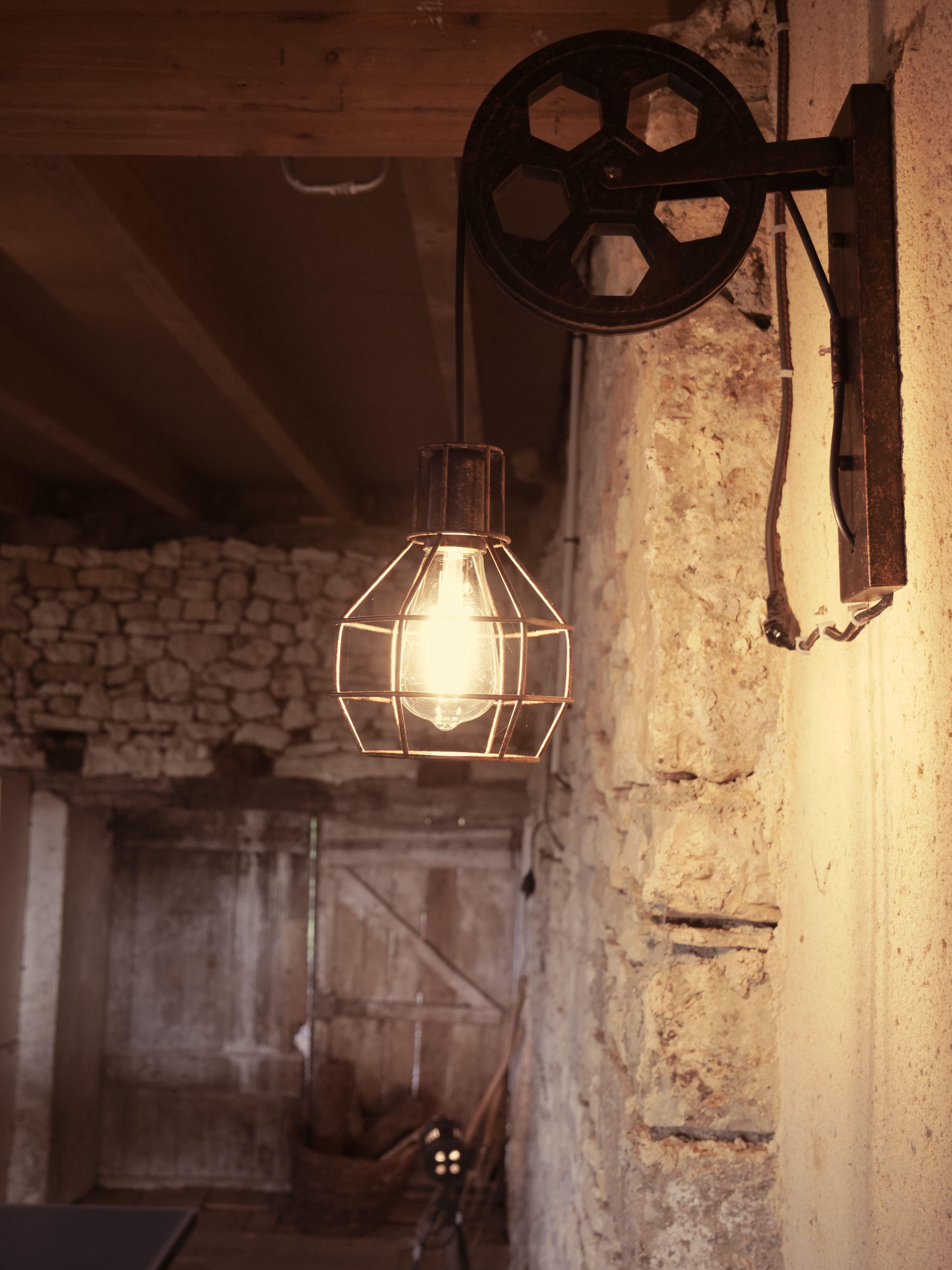 Lampe grange