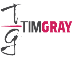 TIM GRAY Host and CEO logo