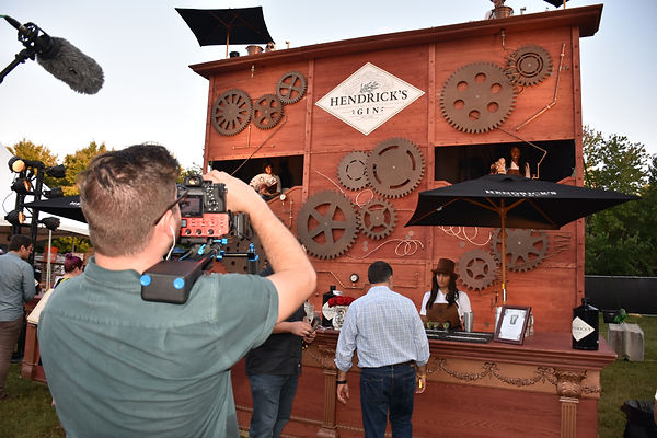hendricks gin brand marketig activation