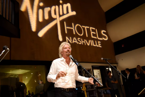Richard Branson and Grayscale Marketing