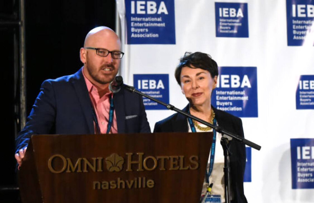 Tim Gray introducing IEBA power agent panel nashville