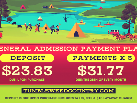 NEW PAYMENT PLANS!!!