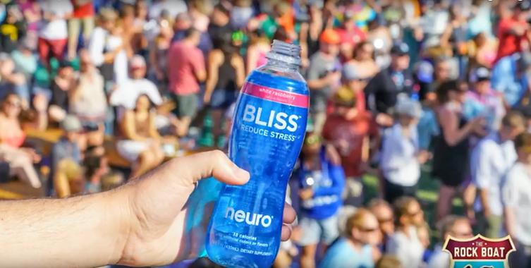 Neuro water brand marketing partnership activation