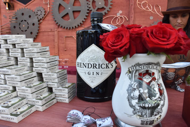 Hendricks Gin and Grayscale Marketing.