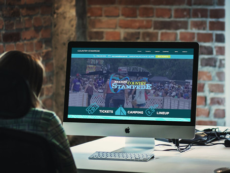 Grayscale Marketing Develops New Website For Country Stampede