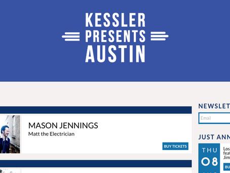 Grayscale Marketing signs Kessler Presents in Austin, TX