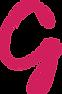 Grayscale Marketing G logo