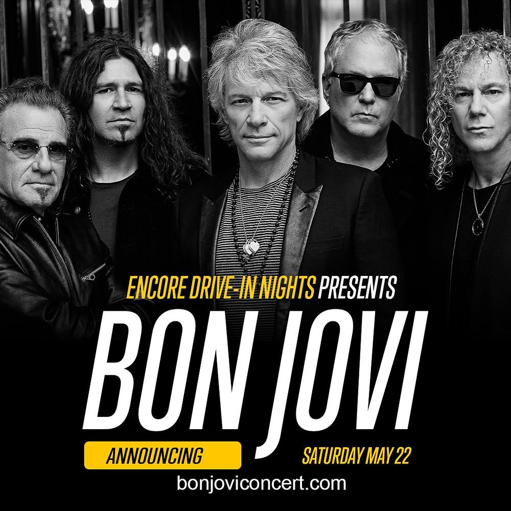 Bon Jovi Grayscale Marketing Nashville