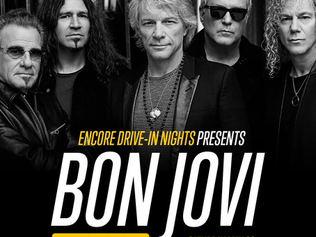 Bon Jovi Kicks Off Encore Drive-In Nights 2021 Concert Series