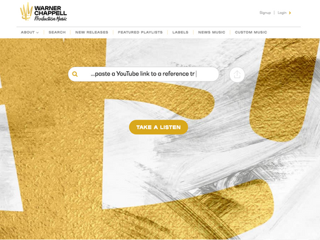 Warner Chappell Launches New Website!